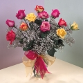 Order Colorful Roses